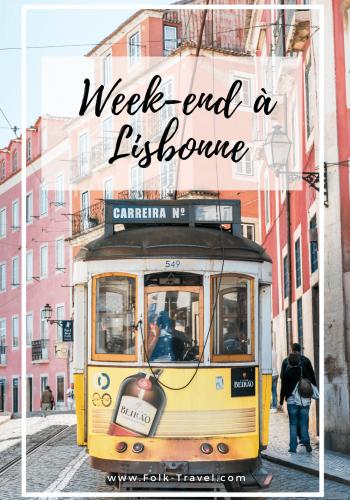 Weekend à Lisbonne Pinterest