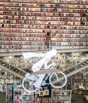 la librairie de Lxfactory à Lisbonne