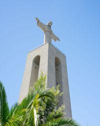 Le monument Cristo Rei à Lisbonne
