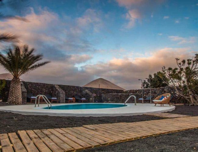 Piscine de l'hôtel Los Lirios Lanzarote