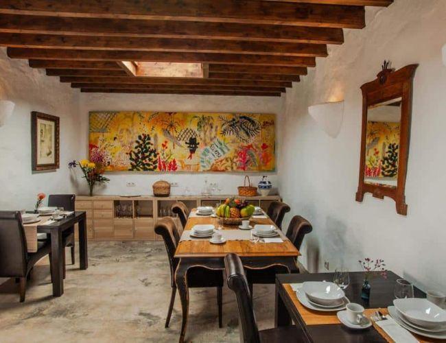 Restaurant et salle du petit déjeuner de Los Lirios Lanzarote
